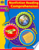 Nonfiction Reading Comprehension Grade 6