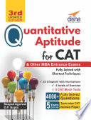 Quantitative Aptitude for CAT & other MBA Entrance Exams 3rd Edition