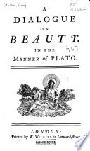 A Dialogue On Beauty book