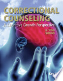 Correctional Counseling  A Cognitive Growth Perspective