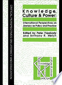 Knowledge  Culture And Power