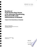Reactions of Small Machine Shop Operators to the Automated Manufacturing Research Facility of the National Bureau of Standards