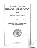 Manual of the Medical Department  United States Navy