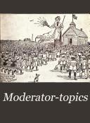 Moderator-topics : ...