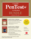 Comptia Pentest Certification Bundle Exam Pt0 001
