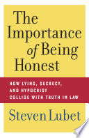 The Importance of Being Honest Book PDF