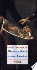 Histoire militaire et sciences humaines