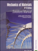 Mechanics of Materials  5th SI Edition