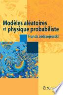 illustration Modèles aléatoires et physique probabiliste