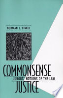 Commonsense Justice