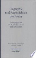 Biographie und Persönlichkeit des Paulus