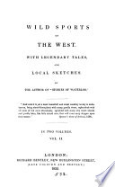 Wild sports of the West  by the author of  Stories of Waterloo