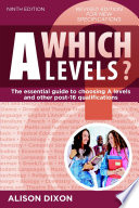 Which A levels  Ninth edition