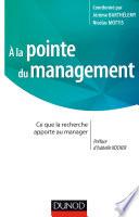 A la pointe du management
