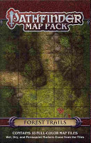 Pathfinder Map Pack: Forest Trails : 8-inch map tiles, stunningly crafted by cartographer...