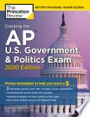 Cracking The Ap U S Government Politics Exam 2020 Edition