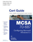 MCSA 70 687 Cert Guide