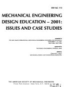 Mechanical Engineering Design Education