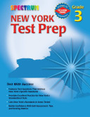 Spectrum New York Test Prep, Grade 3