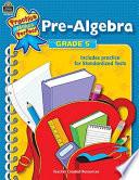 Pre Algebra  Grade 5