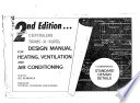 Design Manual for Heating  Ventilation and Air Conditioning  Lee Hendrick  2nd Edition