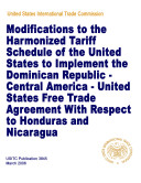 download ebook modifications to the harmonized tariff schedule of the united states to implement the dominican republic-central america-united states free trade agreement with respect to honduras and nicaragua pdf epub