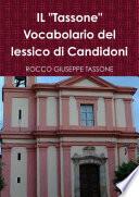IL  Tassone  Vocabolario del lessico di Candidoni
