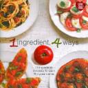 1 Ingredient  4 Ways Book PDF