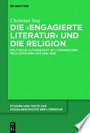 Die 'engagierte Literatur' und die Religion