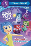 Book Welcome to Headquarters (Disney/Pixar Inside Out)