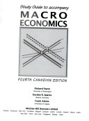 Study Guide to Accompany Macroeconomics, Fourth Canadian Edition