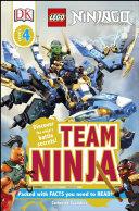 DK Readers L4: LEGO NINJAGO: Team Ninja Book