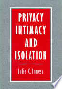Privacy  Intimacy  and Isolation