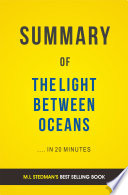 download ebook the light between oceans: by m.l stedman | summary & analysis pdf epub