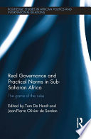 Real Governance and Practical Norms in Sub Saharan Africa