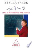 illustration du livre Si 7 = 0. Quelles mathématiques pour l'école ?