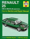 Renault 25 Service And Repair Manual