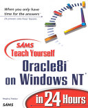 Sams Teach Yourself Oracle8i on Windows NT in 24 Hours