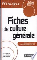 Fiches de culture générale