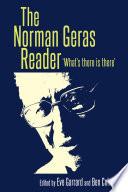 The Norman Geras reader
