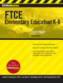 CliffsNotes FTCE Elementary Education K 6  2nd Edition