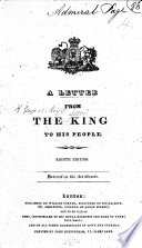 A Letter From The King To His People Seventh Edition