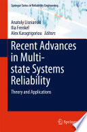 Recent Advances In Multi State Systems Reliability book