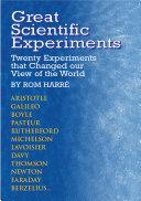 Book Great Scientific Experiments