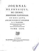 Journal de physique  de chimie et d histoire naturelle et des arts