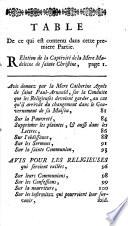 Relation de la captivit   de la m  re Madeleine de Ste Christine  Briquet   de la soeur Marguerite de Ste Gertrude  Du Pr