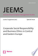 Corporate Social Responsibility And Business Ethics In The Central And Eastern Europe