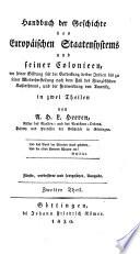 Historische Werke von Arnold Herrmann Ludwig Heeren