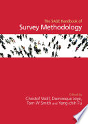 The SAGE Handbook of Survey Methodology