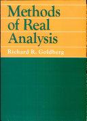 Methods of Real Analysis